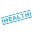 Health Rubber Stamp vector image vector image