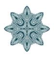Ornament beautiful mandala Geometric circle vector image vector image