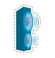 speaker audio sound volume vector image