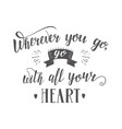 hand-lettering quotes of travel phrase for