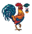 a rooster vector image vector image