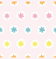 abstract geometric star dot pastel pattern vector image vector image