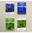 Business brochure design template in A4 vector image vector image
