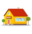 family house icon building symbol isolated on vector image vector image