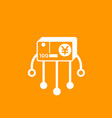 financial diversification deposits icon vector image vector image