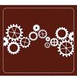 gears concept design vector image vector image