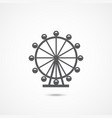 london ferris wheel icon vector image vector image