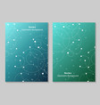 modern brochure cover design vector image vector image