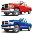 modern pickup vector image vector image