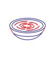 traditional food catalonia romesco gastronomy vector image