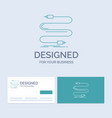 audio cable cord sound wire business logo line vector image