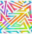 bright stripes seamless pattern vector image vector image