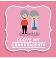 grandparents concept design vector image