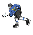 Hockey Player vector image