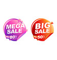 Mega sale big sale up to 50 off isolated