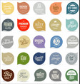 modern badges collection 3 vector image vector image