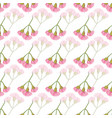 pink eucalyptus blossoms in rows seamless