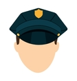police law isolated icon vector image
