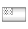 united states america flag vector image vector image