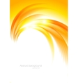 Abstract sunny orange background vector image