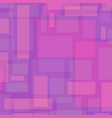 abstract background with rectangles in pink vector image vector image