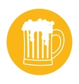 beer related emblem icon image vector image