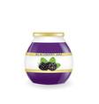 blackberry jam jar vector image vector image
