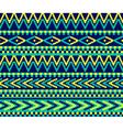 pixeled brazil pattern vector image vector image