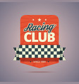 Racing club badge