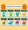 back to school lesson science posters vector image vector image