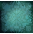 Blue polygonal background design vector image vector image