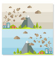 eco friendly ecology concept background vector image