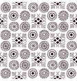geometric seamless pattern in the style of boho vector image vector image