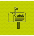 mail concept design vector image