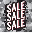 Modern Design Sale Banner vector image