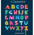 Alphabet for children vector image