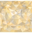 Geometric pattern triangles background vector image
