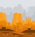Modern City vector image vector image