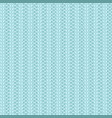 rib knit light blue pattern vector image vector image