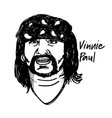 vinnie paul vector image