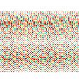 Retro polka dots seamless background vector image vector image