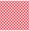seamless classic red table cloth texture vector image vector image
