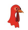 turkey animal icon image vector image