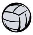 voleyball icon cartoon vector image vector image