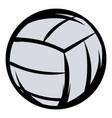 volleyball icon cartoon vector image vector image