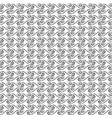 wavy line seamless pattern fashion graphic vector image vector image