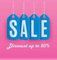 background sales concept shopping and business vector image