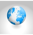 globe icon of the world vector image