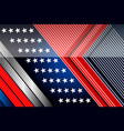 american backgrounds design template vector image vector image