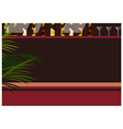 Bar Background vector image vector image